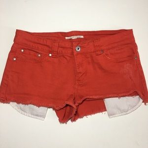 FOREVER 21 Denim Juniors Size 30 Frayed Shorts